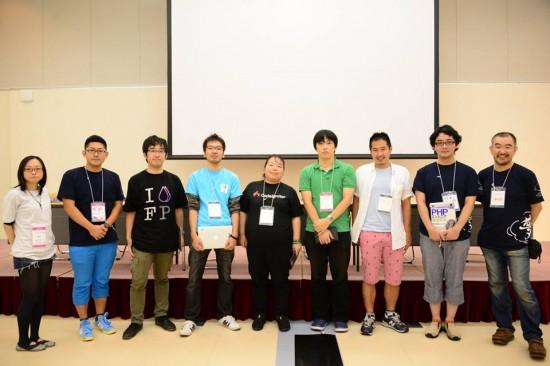PHPカンファレンス2013 フレームワークアップデート 集合写真